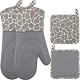 Best Oven Mitts - Silicone Oven Mitts and Pot Holders Set 500 Review