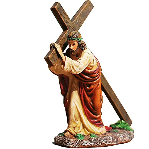 Daisy House Church Home Decoration Resin Jesus Christ Crucifix Cross Ornaments Furnishing Articles Easter Gifts
