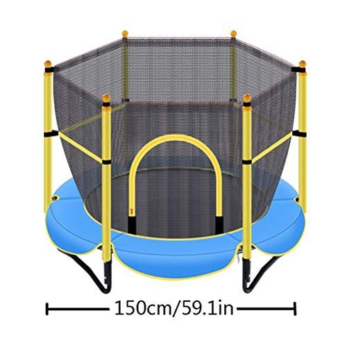 RY-Trampo Peuter Trampoline, Kinderen Fitness Elastische Aerobic Springen Afvallen Indoor Spelen Met Veiligheid Beschermingsnet
