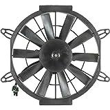 Db Electrical Rfm0016 Radiator Cooling Fan Motor For Hawkeye 400 Polaris Atv 2012