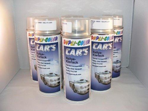 Dupli Color 385858 Car´s Rallye Klarlack glänzend 6 Spraydosen á 400ml