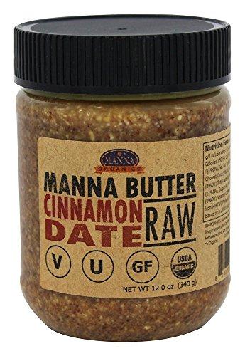 Manna Organics Manna Butter Cinnamon Date - Sprouted, 12 ounce