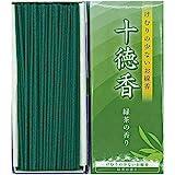 Jittoku-KOH Green Tea Incense Sticks, (220sticks), Rich Aroma, Less Smoke, Japanese Quality