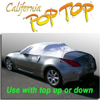 C15 - Nissan 350Z DuPont Tyvek PopTop Sun Shade, Interior, Cockpit, Car Cover. For Both Coupe and Convertible Models - SEMA SHOW NEW PRODUCT AWARD WINNER