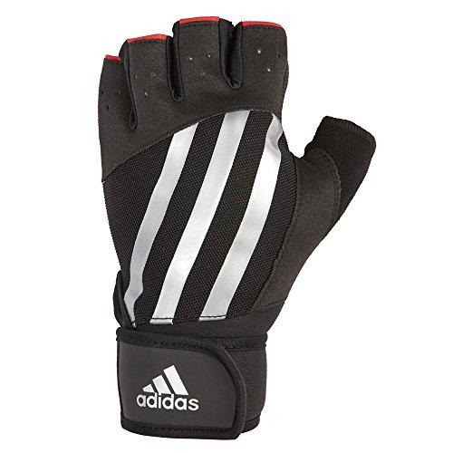 Adidas Elite Training Gloves Unisex Handschuh, Schwarz/Silber, XXL