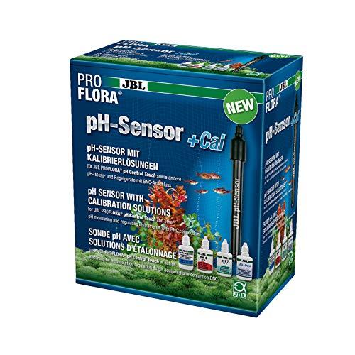 JBL pH-Sensor+Cal PH-Elektrode mit BNC-Anschluss, Mit Kalibrierlösung, 63188