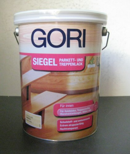 Gori Siegel Parkett- und Treppenlack - 5L (Seidenglanz)