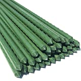 WAENLIR Garden Stakes 30 inch 2.5ft Sturdy Plant Sticks/Support, Tomato Stakes, Pack of 30...