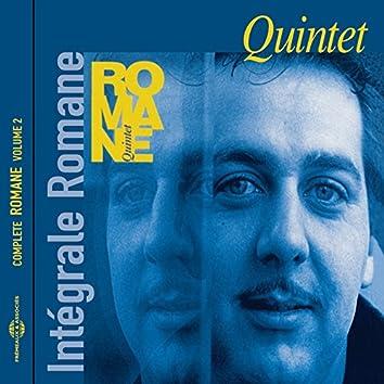 Quintet (feat. Philippe Cuillerier, Laurent Bajata, Florin Niculescu, Pierre Maingourd) [Intégrale Romane, vol. 2]