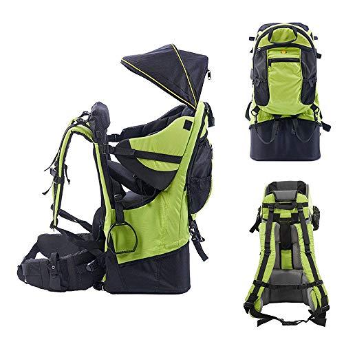 SIERINO Porte-bébés Sac de Randonnée Hiking Child Carrier Pack Dorsal Premium Comfort Léger Sac à Dos Convertible, Transporteur pour la Randonnée, le Shopping et le Ménage avec les Enfants