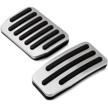 Performance Aluminum Accelerator /& Brake Pedal Covers Farasla Anti-Slip Foot Pedal Pads for Tesla Model 3