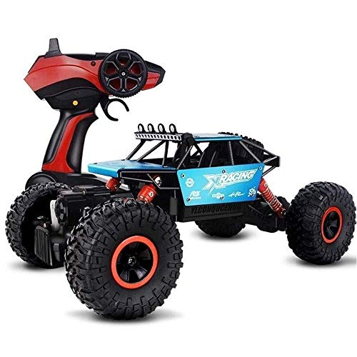 Coches de Control Remoto para niños, 1:18 4 Canales 4x4 RTR Toy Buggy Vehicle Truck Unlimited Terrain 2.4Ghz Radio Racing Off-Road Adult Toy Gift