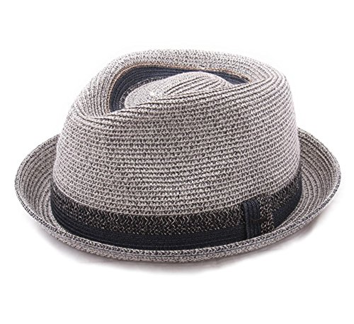 Bailey of Hollywood - Chapeau Trilby Pliable - 2 Coloris - Homme ou Femme Archer - Taille M - Gris