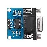 CENPEN 5pcs RS232 a TTL puerto serie del módulo del convertidor DB9 Conector MAX3232 Módulo de serie