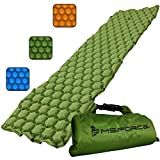 MSFORCE Camping Sleeping Pad. Inflatable Sleeping Mat for Camp Sleeping & Outdoor Sleeping. Ultralight, Durable Waterproof, Compact Mattress. 2020 Version.