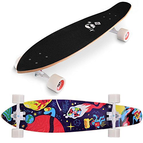 Street Surfing Longboard Kicktail, 91,4cm, Uni, SSLKL_G_Space Artist, Space Artist, 91,4 cm