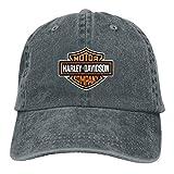 Personalized Harley Davidson Logo Cool Baseball Caps for Man Black