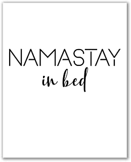 Namastay in Bed Print - 8