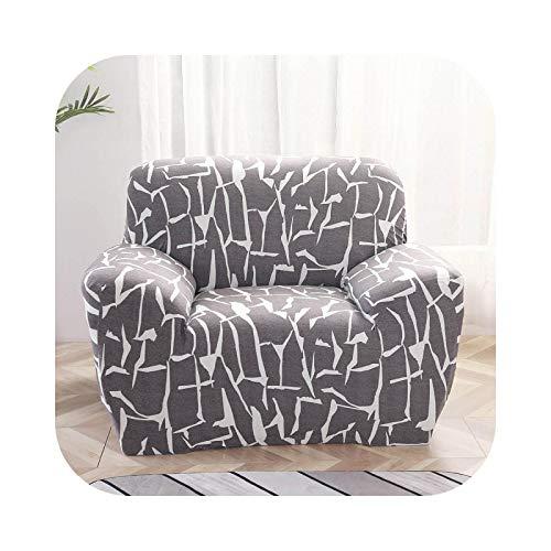 Sofa Covers - Funda de sillón elástica, funda de sofá moderna para salón, silla, funda de sofá 1/2/3/4 asiento, color 16-1-seat 90 – 140 cm