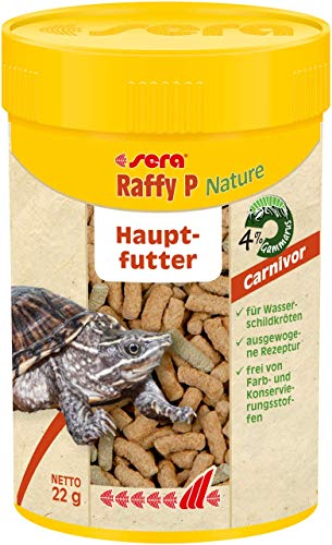 Sera - Alimento para Tortugas Acuáticas SERA Raffy P - 2253 - 100 ml. ✅