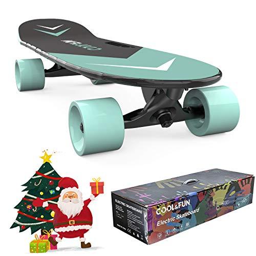 HITWAY Elektro Skateboard E Skateboard mit Fernbedienung, geeignet für Studenten, Teenager und Anfänger