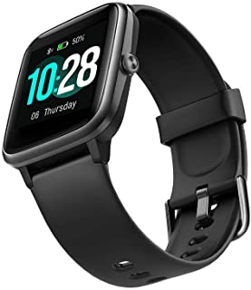 HAHALU ID205 Orologio intelligente Bluetooth Modalità sportive Gestione del sonno APP Orologio impermeabile,Smart Watch, O...