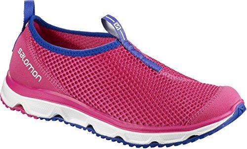 Salomon RX Moc 3.0 W, Zapatillas de Senderismo Mujer, Rosa/Violeta (Pink Yarrow/White/Surf The Web), 42