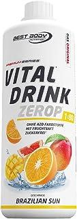 Best Body Nutrition Vital Drink ZEROP – Brazilien Sun, zuckerfreies..