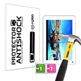 Protector de Pantalla Anti-Shock Anti-Golpe Anti-arañazos Compatible con Tablet Storex eZee Tab 8D11-S