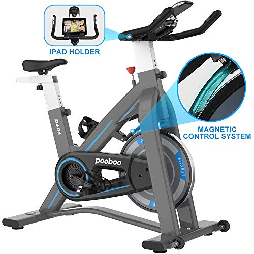 L NOW Indoor Exercise Bike Indoor Cycling Stationary Bike, Magnetic Resistance Belt Drive...