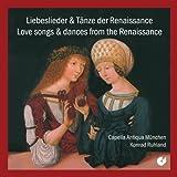 Chants D'Amour Et Danses De La Renaissance