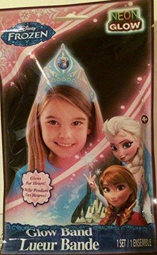 Disney Frozen Glow Band (looks like Elsa's tiara) NEON Glow