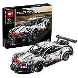 LEGO 42096 Technic Porsche 911 RSR, Regalo para Día del Padre, Coche de Carreras Set de Construcción de Coleccionista