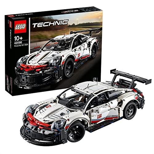 LEGO 42096 Technic Porsche 911 RSR Modelo de Coleccionista de Coche de Carreras Set de Construcción para Niños +10 años