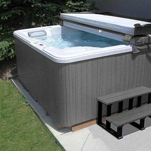 Highwood SPAKIT-FL-CGE Hot Tub Cabinet Spa Replacement Kit, Coastal Gray