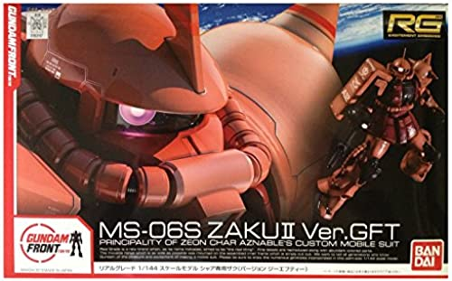 [Gundam Front Tokyo Exclusive] MS-06S ZAKU II Ver.GFT (RG) (Plastic model)