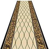 Corredor de alfombra tradicional clásico Diseño de enrejado geométrico Alfombra de área de corredor de entrada de pasillo de tacto súper suave Cualquier longitud 2-8 m (Color: B, Tamaño: 1.4X2M)
