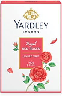 Yardley Soap, Red Roses, 100g (Pack of 3)