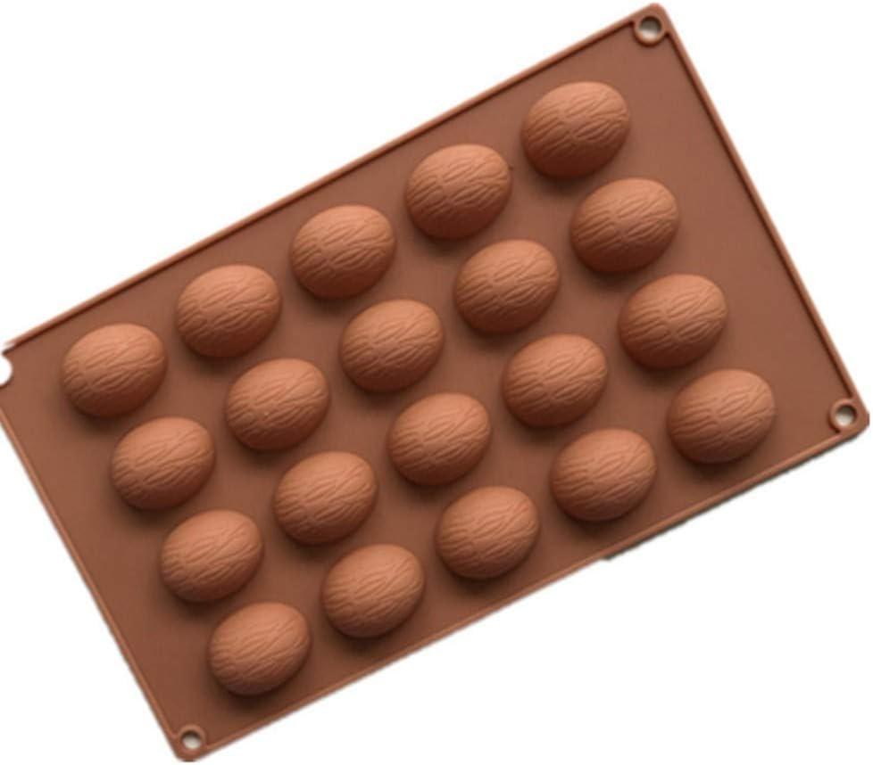 20Hole Silicone Half Sphere Ball Cupcake Chocolate Mold Cake Decor Baking Mold
