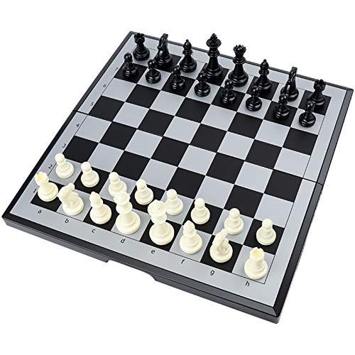 chaonong Schachmagnetische tragbare Schachschachbrett High-End-Magnetprüfer Studentenwettbewerb Special Set (Size : Large)