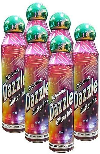Dazzle Six Pack 3oz Grün Bingo Dauber