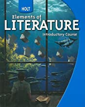 Holt Elements of Literature Introductory Course Student Book