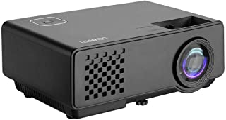 Devanti 2800 Lumens Portable Mini Video Projector with 120'' Projection Size for 1080P Home Cinema Movies Video Game Outdo...