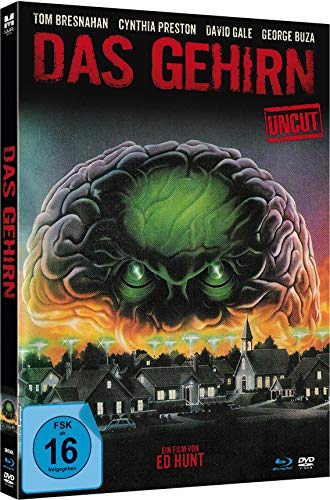 Das Gehirn (The Brain) - Uncut limited Mediabook-Edition (Blu-ray+DVD plus Booklet/digital remastered)