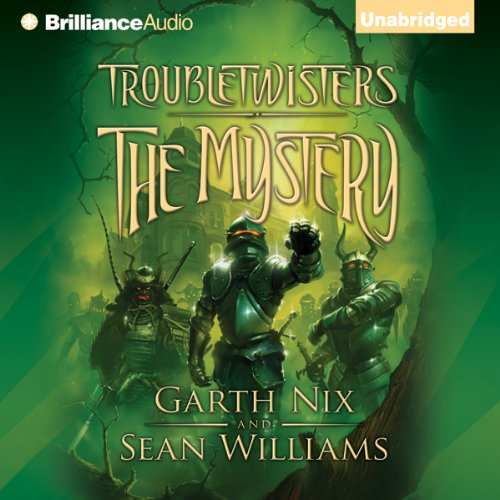 Troubletwisters, Book 3: The Mystery audiobook cover art