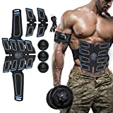 Belly Muscle Trainer Electrical: Estimulador Muscular Ems Con Ems Para Hombres Mujeres, Entrenador Muscular Ems Para Electroestimuladores Musculares Y Nerviosos Pierna Abdominal(Azul)
