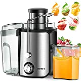 Juicer Juice Extractor 600 Watt Wide Mouth Stainless Steel Dual Speed Centrifugal Juicer