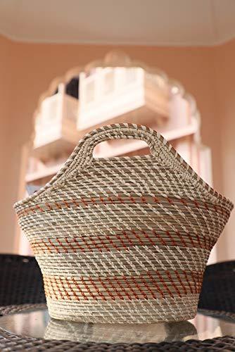 Palash Tribal Handicrafts Magazine Basket (36 cm x 27 cm x 33 cm)