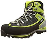 Asolo Men's Shiraz Gv Mm High Rise Hiking Shoes, Green (Nero/Green Lime), 9 UK