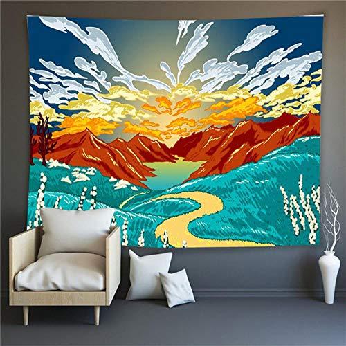 Tapiz de la serie Ukiyo-E tapiz para colgar en la pared tela de fondo de arte tapiz para colgar en la pared